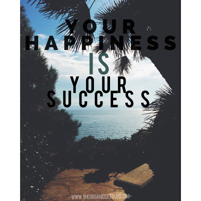 Your Happiness IS Your Success