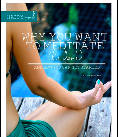 My Article in Happiness & Wellbeing Magazine!
