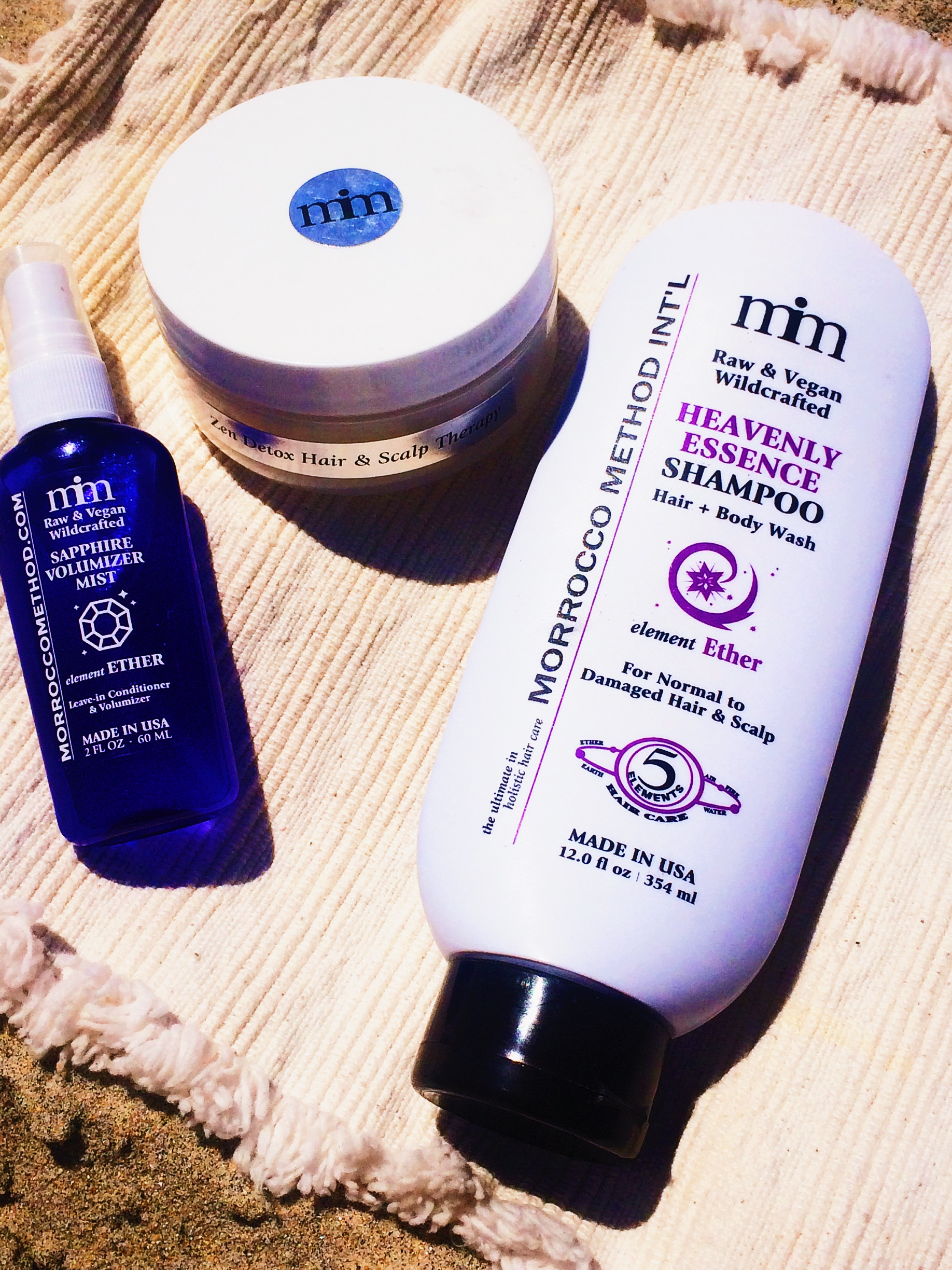 The Morrocco Method Haircare Ritual