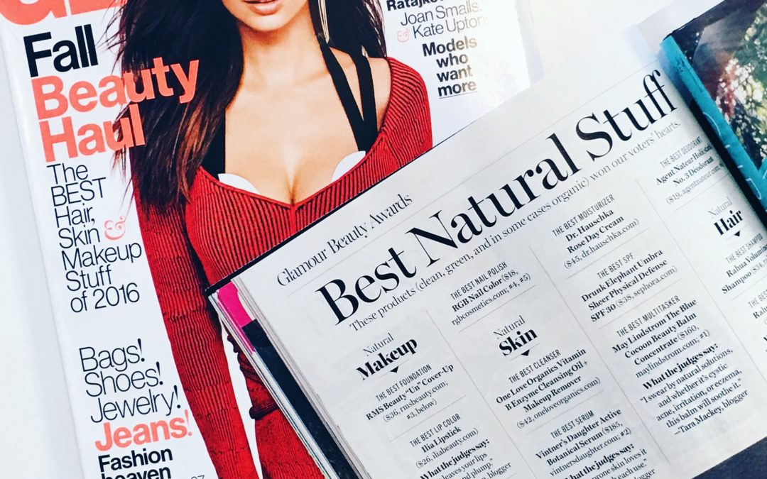 Judging The Glammy Awards: The Best Natural Products of 2016