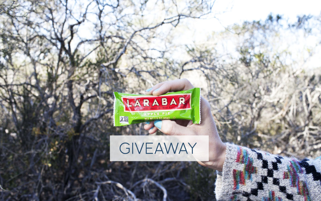 How To Stay Inspired To Be Healthy + A Giveaway with Larabar!
